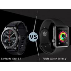 Сравнение Apple Watch S3 и Samsung Gear S3