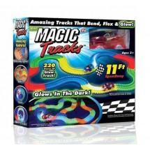 Гибкая светящаяся дорога Magic Track - 220 деталей