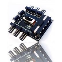Коннектор для подключения кулеров Molex
